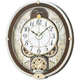 【北海道・沖縄・離島配送不可】RE577B 電波からくり時計 SEIKO セイコー からくり・アミューズ 壁掛け時計 電波時計 電波掛け時計 電波掛時計 かけ時計 壁掛け電波時計