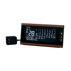 DL212B 電波置時計 SEIKO セイコー マンスリーカレンダー搭載 交流式電源 デジタル電波置時計 置き時計 電波時計 電波置き時計 電波置時計 おき時計 卓上時計 卓上電波時計