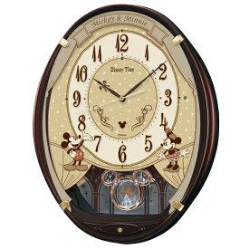 FW579B 壁掛時計 SEIKO セイコー ディズニータイム ミッキー&フレンズ 壁掛け時計 電波時計 電波掛け時計 電波掛時計 壁掛時計 かけ時計 壁掛け電波時計 電波壁掛け