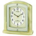 お取り寄せ 8RY400-005 電波置時計 CITIZEN シチズン パルラフィーネR400 8RY400005 置き時計 電波時計 電波置き時計 …