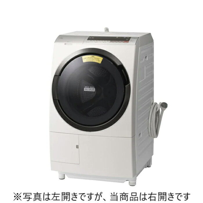 BD-SX110CR-Nドラム式洗濯乾燥機HITACHI日立ビッグドラム右開き洗濯・脱水容量11kg/洗濯〜乾燥・乾燥容量6kgBDSX110CRNロゼシャンパン