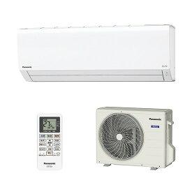 【時間指定不可】【離島配送不可】CS-229CF-W ルームエアコン Panasonic パナソニック Eolia(エオリア) 2.2kW インバーター冷暖房除湿タイプ CS229CFW クリスタルホワイト
