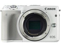キヤノン / CANON EOS M3 ボディ [ホワイト] 【デジタル一眼カメラ】【送料無料】