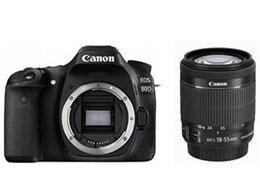 キヤノン / CANON EOS 80D EF-S18-55 IS STM レンズキット 【デジタル一眼カメラ】【送料無料】
