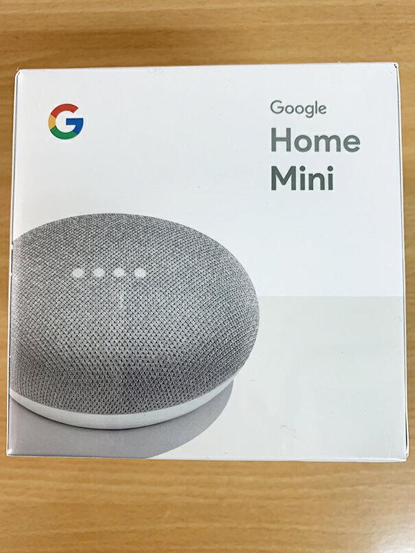 Google Google Home Mini [チョーク] 【Bluetoothスピーカー】【送料無料】
