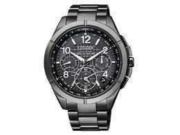 CITIZEN / シチズン アテッサ エコ・ドライブ電波時計 ブラックチタンシリーズ CC9075-52F 【腕時計】【送料無料】