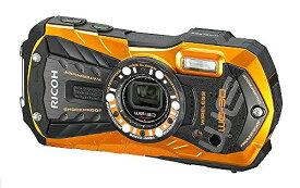 RICOH 防水デジタルカメラ RICOH WG-30W フレームオレンジ 防水12m耐ショック1.5m耐寒-10度 RICOH WG-30W OR 04636