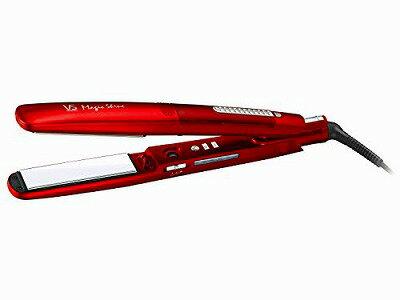 スチーム ストレートアイロン レッド 【海外使用可能 】 VSS-9500/RJ VIDAL SASSOON(ヴィダル サスーン) Majic Shine(マジックシャイン)【送料無料】