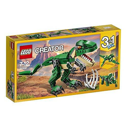 【ママ割】ポイント5倍対象ショップ限定 4/22 20:00スタート(エントリー必要)レゴ(LEGO) クリエイター ダイナソー 31058