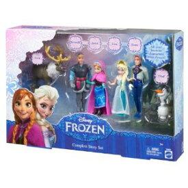 ディズニープリンセス アナと雪の女王 おはなしデラックスセット (Y9980) フィギュア 人形