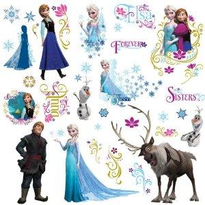 ディズニー アナと雪の女王 ウォールステッカー Frozen ルームメイト 【並行輸入品】【送料無料】