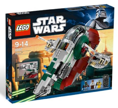 レゴ スター・ウォーズ スレープ I 8097