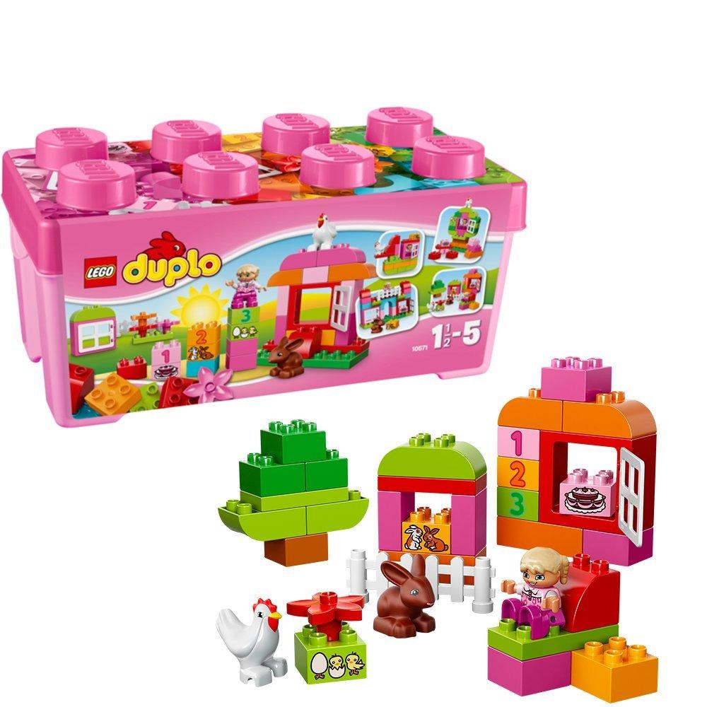 レゴ デュプロ ピンクのコンテナデラックス 10571【送料無料】