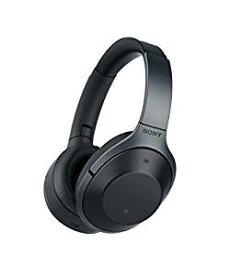 ソニー SONY ワイヤレスノイズキャンセリングヘッドホン ブラック MDR-1000X B