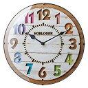 【送料無料】インターフォルム(INTERFORM INC.) 電波掛け時計 FORLI - フォルリ - WH ホワイト CL-8332WH