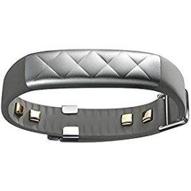 【キャッシュレス5%還元対象】Jawbone UP3 ワイヤレス活動量計リストバンド 睡眠計 心拍計 シルバークロス JL04-0101ACA-JP