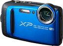 FUJIFILM 防水 デジタルカメラ XP120 ブルー FX-XP120BL