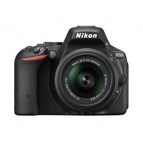 Nikon デジタル一眼レフカメラ D5500 18-55 VRII レンズキット ブラック 2416万画素 3.2型液晶 タッチパネル D5500LK18-55BK【送料無料】