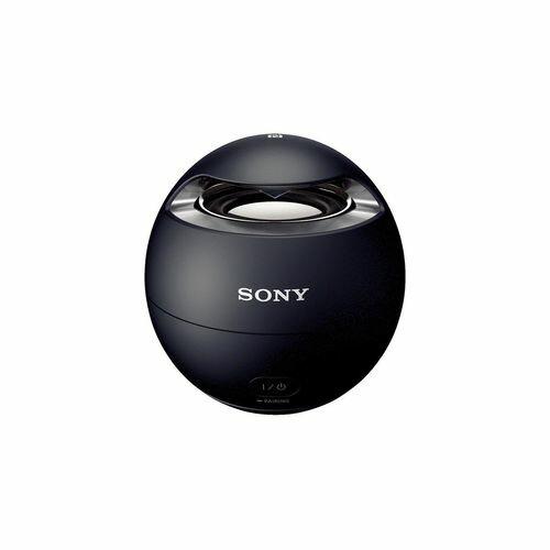 ソニー SONY ワイヤレスポータブルスピーカー SRS-X1 : 防水/Bluetooth対応 ブラック SRS-X1 B