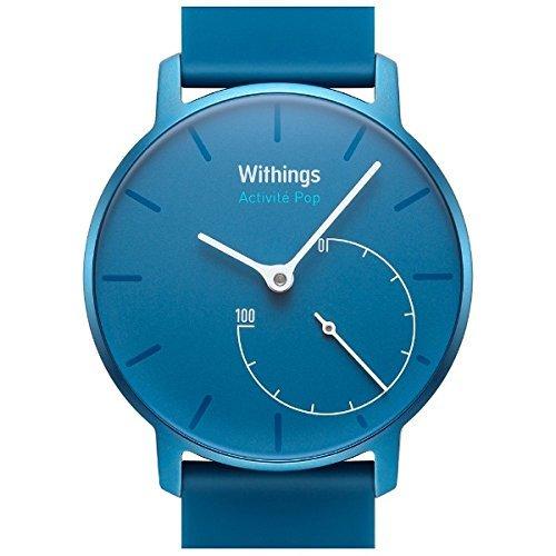 Withings スマートウォッチ Activité Pop Bright Azure