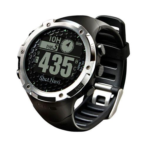 ショットナビ(Shot Navi) ゴルフナビ GPS 腕時計型 ブラック 日本プロゴルフ協会推奨 SN-W1-FW【送料無料】