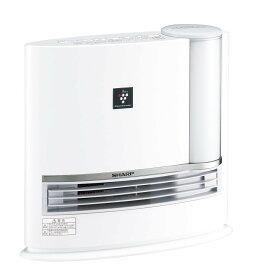 シャープ 加湿セラミックヒーター プラズマクラスター搭載 ホワイト HX-G120-W