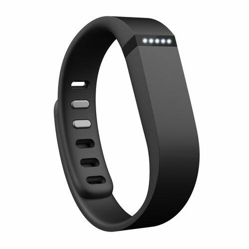 Fitbit フィットビット フィットネスリストバンド Flex 歩数 睡眠 健康管理 活動量計 アクティブトラッカー Black ブラック S L 2サイズ同梱 【日本正規品】 FB401BK-JPN