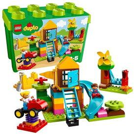 """【4月15日限定 全商品ポイント3倍】レゴ(LEGO) デュプロ みどりのコンテナスーパーデラックス """"おおきなこうえん"""" 10864 レゴシリーズ おもちゃ 玩具 ブロック 知育玩具 男の子 女の子 プレゼント 誕生日 子供 こども"""