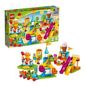 """【4月15日限定 全商品ポイント3倍】レゴ(LEGO)デュプロ デュプロ(R)のまち""""おおきな遊園地"""" 10840 レゴシリーズ おもちゃ 玩具 ブロック 知育玩具 男の子 女の子 プレゼント 誕生日 子供 こども"""
