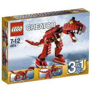 【ママ割】ポイント5倍対象ショップ限定 4/22 20:00スタート(エントリー必要)Lego レゴ クリエイター ティラノサウルス 6914