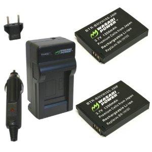 JVC ADIXXION GC-XA1用 互換バッテリー+充電器セット 並行輸入品