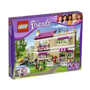 Lego レゴ フレンズ ラブリーハウス 3315【送料無料】