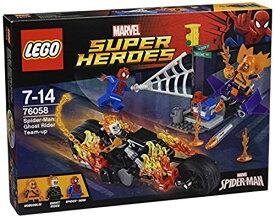 【キャッシュレス5%還元対象】レゴ (LEGO) スーパー・ヒーローズ スパイダーマン:ゴーストライダーとの団結 76058