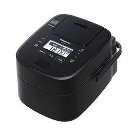 パナソニック 5.5合 炊飯器 圧力IH式 Wおどり炊き ブラック SR-VSX108-K