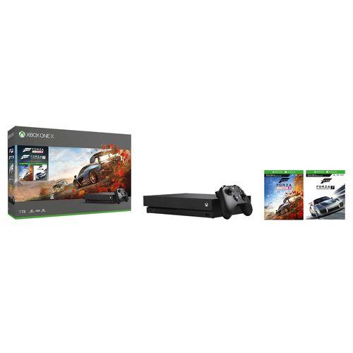 【ママ割】ポイント5倍(対象ショップ限定エントリー必要)Xbox One X Forza Horizon 4/Forza Motorsport 7 同梱版 (CYV-00062)