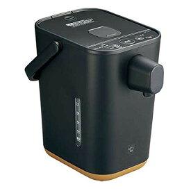 【3月5日限定 全商品ポイント3倍】象印 電動ポット 1.2L マイコン沸とう STAN. CP-CA12-BA ブラック