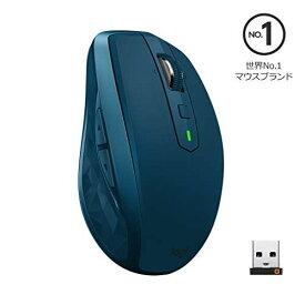 【5月15日限定 全商品ポイント3倍】ロジクール ワイヤレスマウス 無線 マウス ANYWHERE 2S MX1600sMT Unifying Bluetooth 高速充電式 FLOW対応 7ボタン MX1600s ミッドナイトティール 国内正規品 2年間無償保証