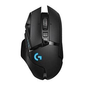 【キャッシュレス5%還元対象】Logicool G ゲーミングマウス ワイヤレス G502WL ブラック LIGHTSPEED 無線 多ボタン ゲームマウス HERO16Kセンサー LIGHTSYNC RGB POWERPLAY ワイヤレス充電 G502 Hero 国内正規品 2年間メーカー保証