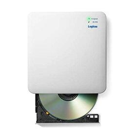 ロジテック 音楽CD取り込みドライブ WiFi 5Ghz対応 11ac iOS/Android対応 USB2.0 ホワイト LDR-PS5GWU3RWH