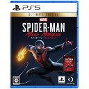 【6月15日限定 全商品ポイント3倍】PS5 Spider-Man MilesMorales UltimateEdition プレイステーション5ソフト
