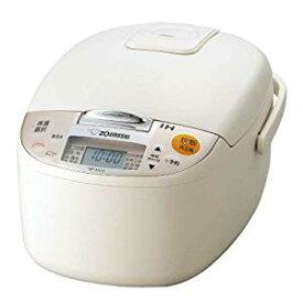 【キャッシュレス5%還元対象】象印 炊飯器 IH式 5.5合 ライトベージュ NP-XA10-CL