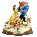 ディズニー トラディション Enesco Disney Traditions Beauty and the Beast 置物 フィギュア 美女と野獣 【並行輸入…
