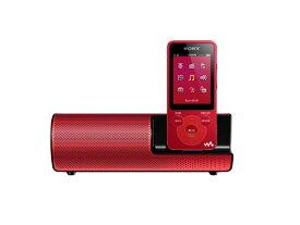 【キャッシュレス5%還元対象】SONY ウォークマン Eシリーズ 4GB スピーカー付 レッド NW-E083K/R