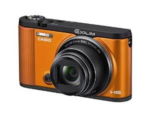 ASIO デジタルカメラ EXILIM EX-ZR1600EO 自分撮りチルト液晶 オートトランスファー機能 Wi-Fi/Bluetooth搭載 オレンジ