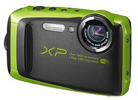 【キャッシュレス5%還元対象】FUJIFILM 富士フィルム デジタルカメラ XP90 防水 ライム ファインピックス FinePix FX-XP90LM