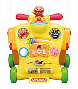 【5月1日限定 全商品ポイント3倍】アンパンマン 乗って! 押して! へんしんウォーカー (リニューアル) おもちゃ 玩具 知育 遊具 勉強 知育玩具 男の子 女の子 プレゼント 誕生日 子供 こども