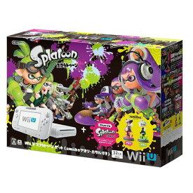 【キャッシュレス5%還元対象】Wii U スプラトゥーン セット (amiibo アオリ・ホタル付き)