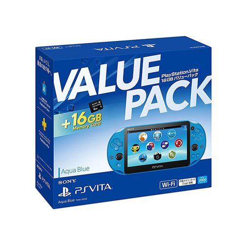 PlayStation Vita 16GB バリューパック アクア・ブルー【送料無料】
