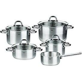 フィスラー 鍋 鍋セット ステンレス鍋 コルフ 5点セット 33-118-05 シチューポット キャセロール ソースパン