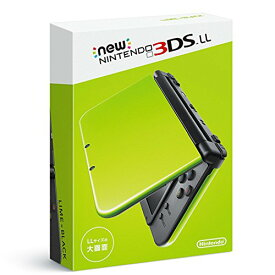 Nintendo 3DS NEW ニンテンドー 本体 LL ライム/ブラック